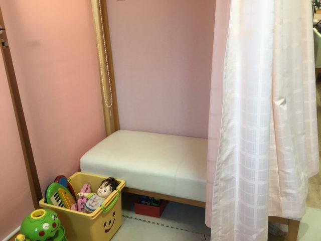 Q14.産後骨盤矯正で通うとき、授乳スペースなどはありますか?